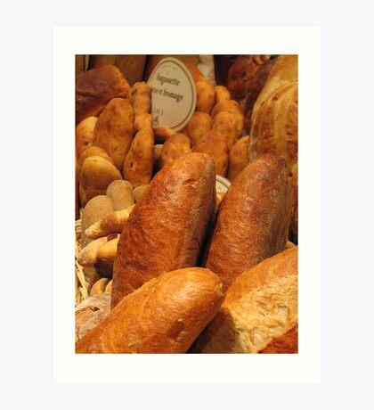 Breads Art Print