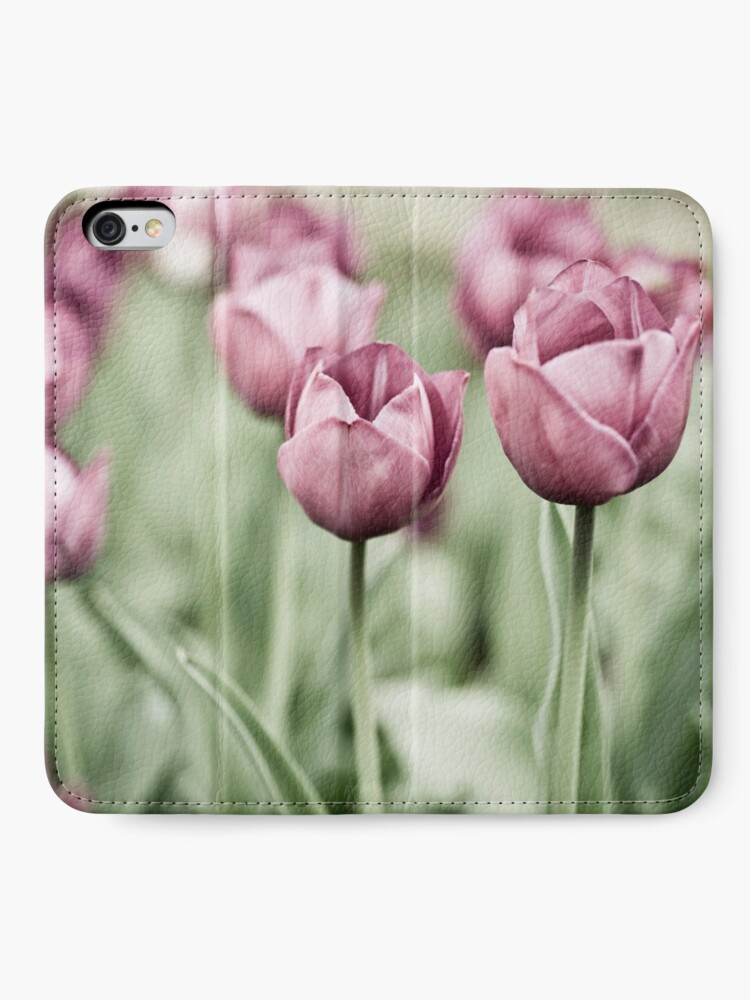 Alternate view of Tulip Garden iPhone Wallet
