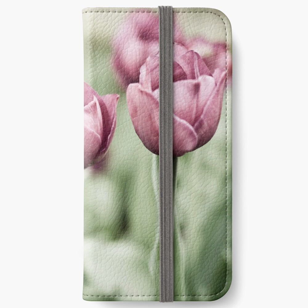 Tulip Garden iPhone Wallet