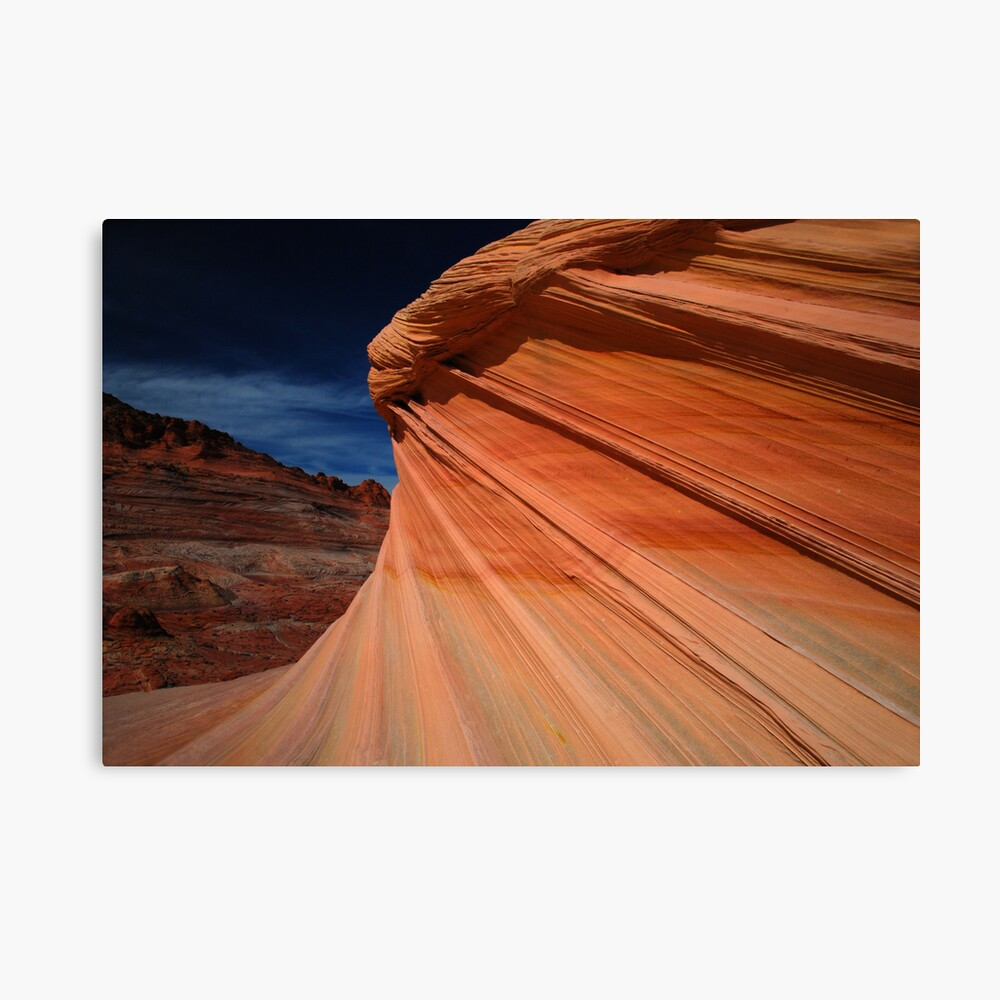 farewell at The Wave Canvas Print