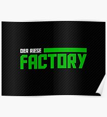 The Factory - Dark Poster