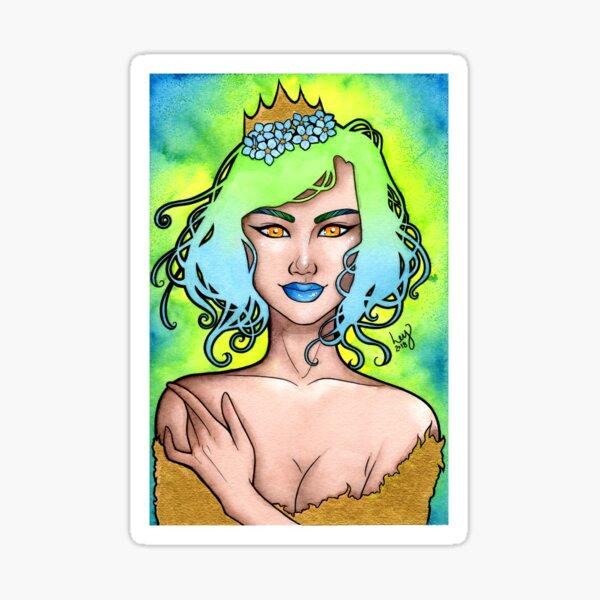 Spring Queen Sticker