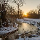Winter on Coplay Creek at Tate Meadows by EthanQuin