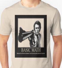 Clint Eastwood: Basic Math Unisex T-Shirt