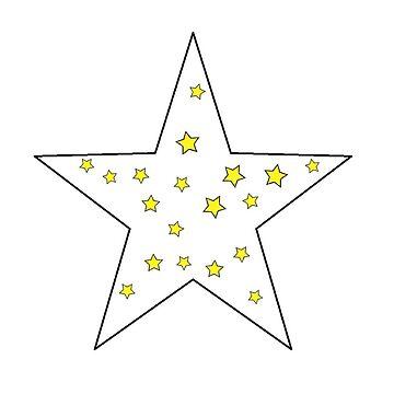 der kleine sterne prinz - 25 big star (png) von RMBlanik