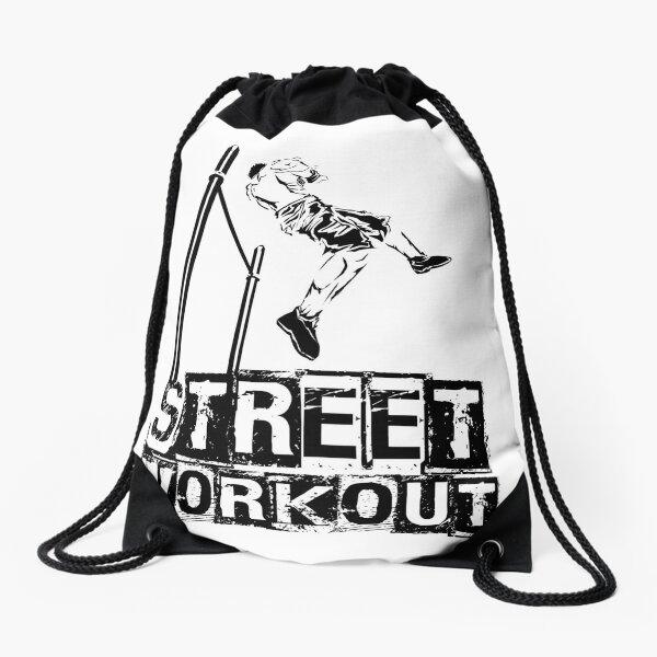 STREET STRENGTH - Muscle up  Drawstring Bag