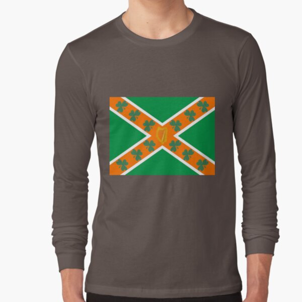 Irish/American Rebel Long Sleeve T-Shirt