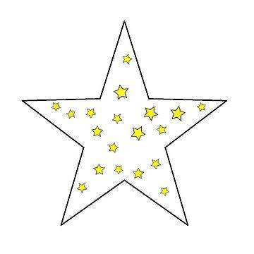 der kleine sterne prinz - 26 big star (png) von RMBlanik
