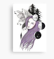 Three Moons Canvas Print