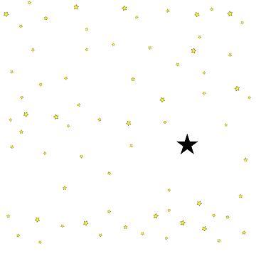 der kleine Stern Prinz - 27 Sterne B groß (png) von RMBlanik