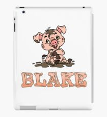 Blake Piggy iPad Case/Skin