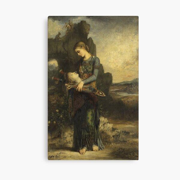 Galatea Nude Gustave Moreau symbolist artist Canvas Art print