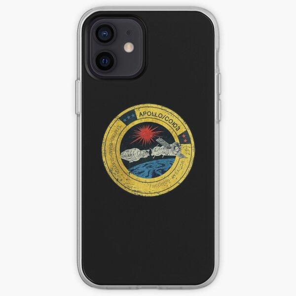 Apollo Soyuz Vintage Emblem iPhone Soft Case
