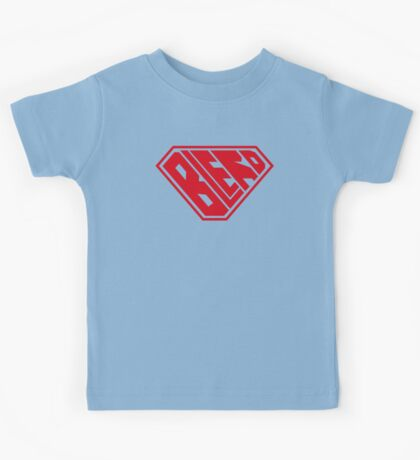 Blerd SuperEmpowered (Red) Kids Clothes
