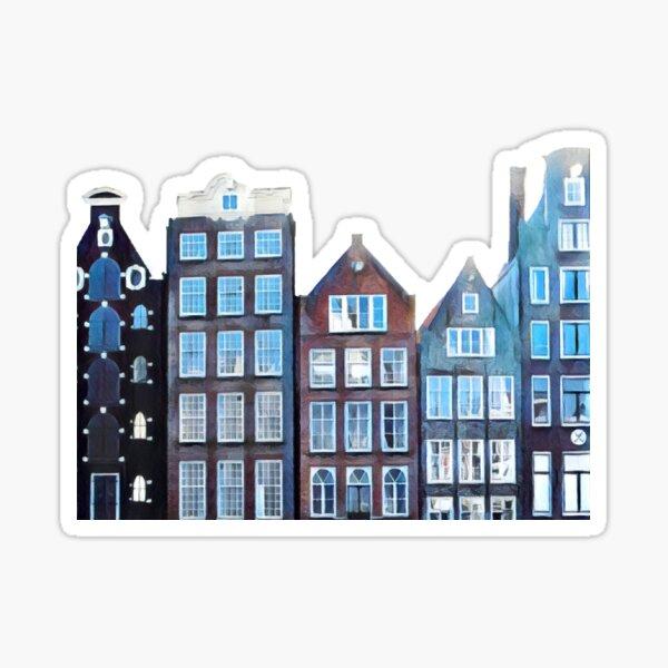 Damrak Amsterdam Sticker