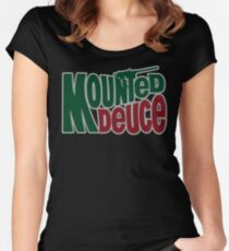 Mounted Deuce Women's Fitted Scoop T-Shirt