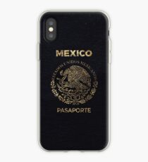 Mexiko Vintage Reisepass iPhone-Hülle & Cover