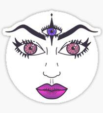 Wide Awake Sticker