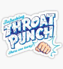 Throat Punch Sticker
