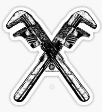 Monkey Wrenches Sticker