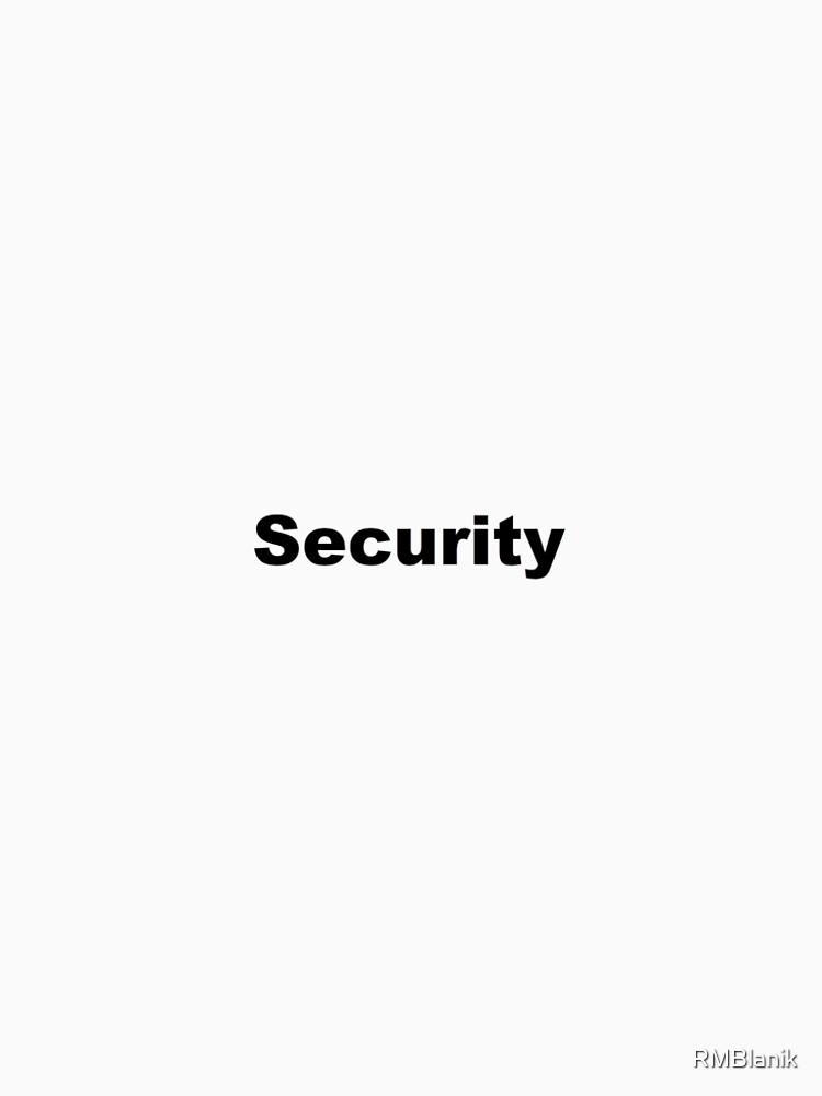 Security by RMBlanik
