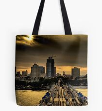 Sunset from the Pier Tote Bag