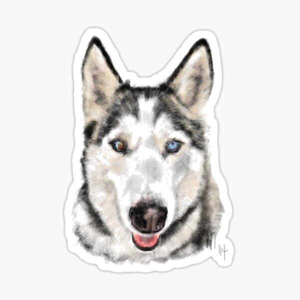 Husky Dog Pooch Pup  Sticker