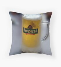 This Pint Is On Me !! Cheers !! Throw Pillow