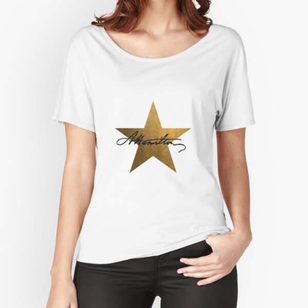 Hamilton Star Relaxed Fit T-Shirt