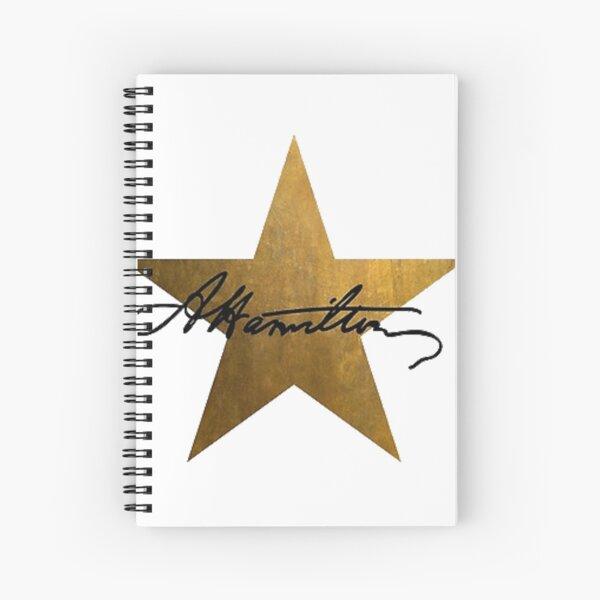 Hamilton Star Spiral Notebook