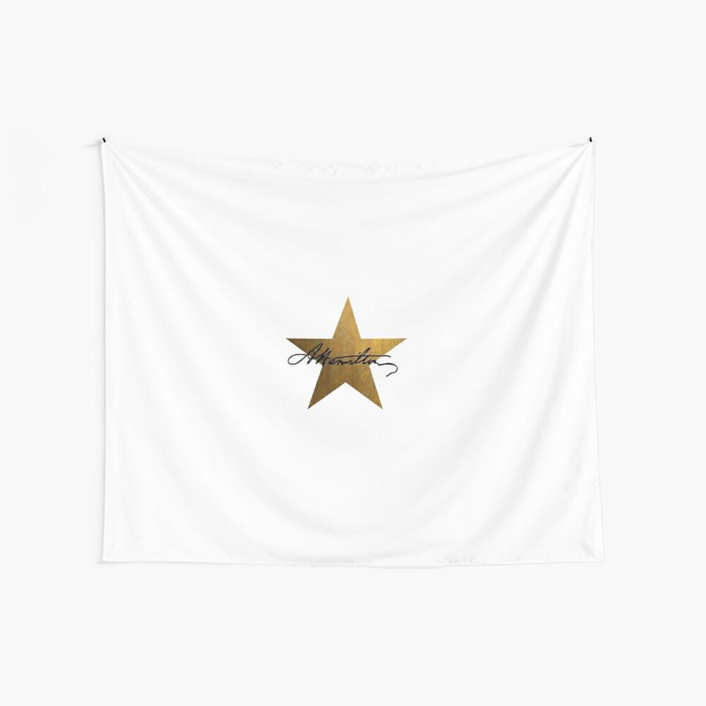 Hamilton Star Tela decorativa