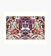 Leaves Organized II Art Print