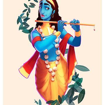 Krishna by Skyfisher