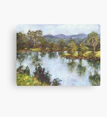 Hastings River, Wauchope Canvas Print