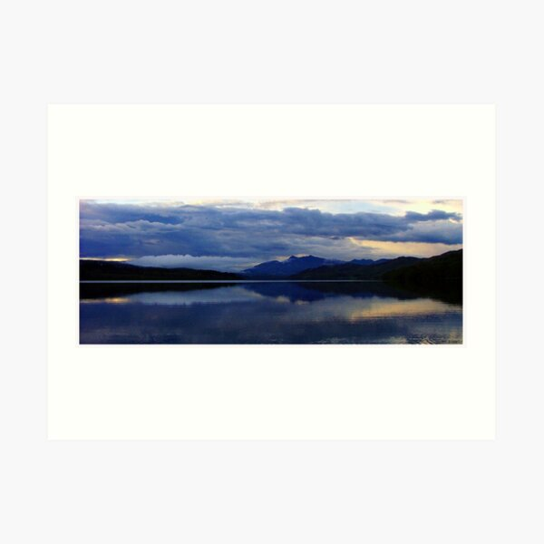 Loch  Awe  and  Ben Cuachan Art Print