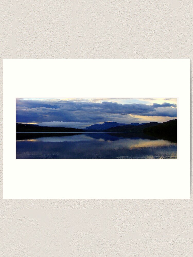 Alternate view of Loch  Awe  and  Ben Cuachan Art Print