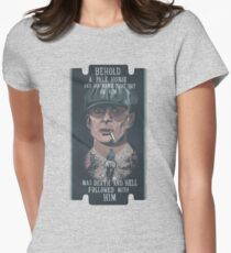 When Tommy Shelby Comes Around Women's Fitted T-Shirt