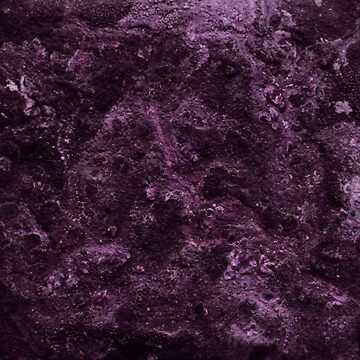 Violet Abstract Salt Painting by ChristopherNeal