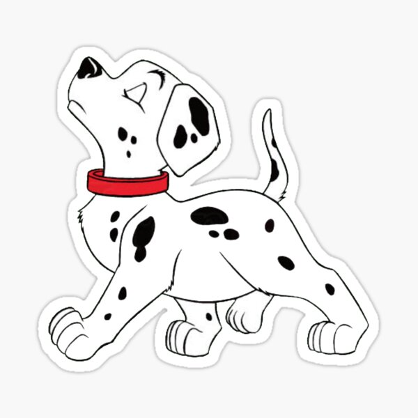 101 Dalmatians Sticker