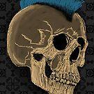 Punk Skull by Felipe Navega