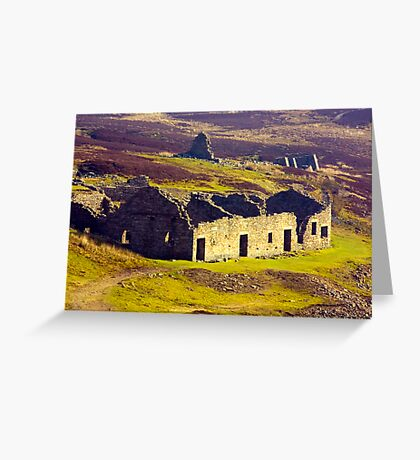Old Gang Smelt Mill at Surrender Bridge Greeting Card