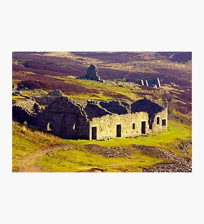 Old Gang Smelt Mill at Surrender Bridge Photographic Print
