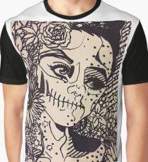 Flower Woman Graphic T-Shirt