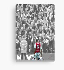 Thierry Henry 14 Canvas Print