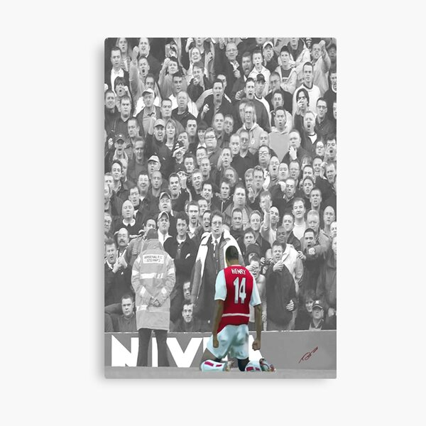 Arsenal Legend Thierry Henry Canvas Print