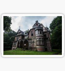 Chateau Notenboom - Abandoned Castle Sticker