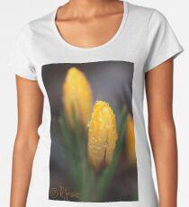 Spring flowers. 27th march 2018. No.2. © Dr.Andrzej Goszcz.   Women's Premium T-Shirt