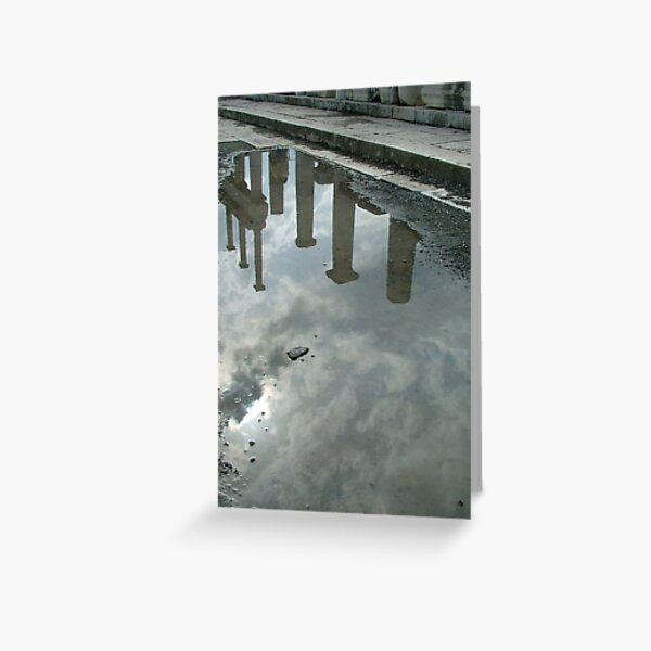 Reflections at Pompeii Greeting Card