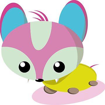 sweet flat design foxxi by open-eyes