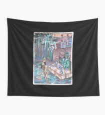 Dracula's Dinner Wall Tapestry